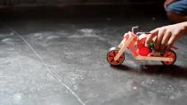 آموزش ساخت دوچرخه (موتورسیکلت اسباب بازی)
