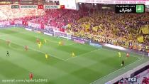 خلاصه بازی فوتبال دورتموند 1_3 یونیون برلین (بوندس لیگا)