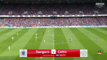 فول مچ بازی گلاسکو رنجرز - سلتیک؛ لیگ برتر اسکاتلند (نیمه اول)