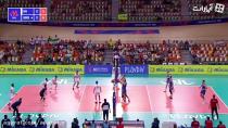 خلاصه بازی والیبال ایران 3 - 0 صربستان