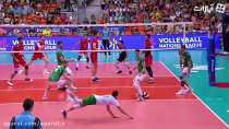 خلاصه بازی والیبال ایران 3 - 0 بلغارستان