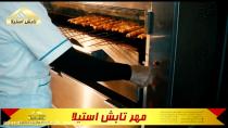 کباب پز تابشی دستی آسانسوری (سالاماندر)