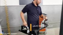تنظیم زوایای چرخ خودرو با استفاده از دستگاه