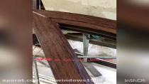 ویدیو آموزشی تکمیل زهوار پنجره خم یا هلالی upvc