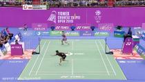 مسابقه بدمینتون نیمه نهایی سینگل مردان - چین و تایپه 2019