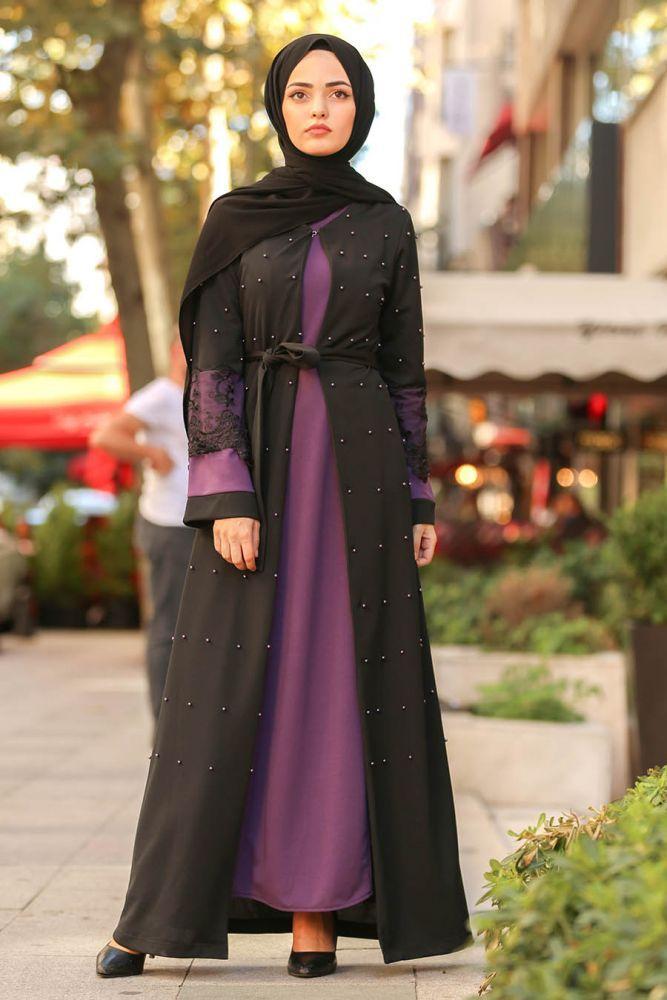 مدل مانتو بلند عربی