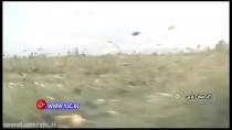 نابود شدن مزارع ارومیه با گلوله های شیشه ای