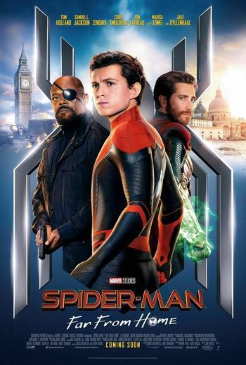 دانلود فیلم مرد عنکبوتی: دور از خانه Spider-Man: Far from Home 2019 WEBRip