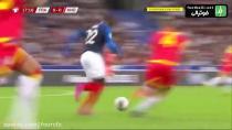 خلاصه بازی فرانسه ۳ - ۰ آندورا