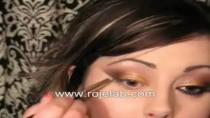 فیلم آموزش آرایش برنزه