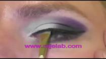 فیلم آموزش آرایش چشم -سایه چشم دودی و سوسنی
