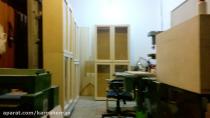 11- یه ویدیوی قدیمی از کارگاه و ساخت کتابخانه