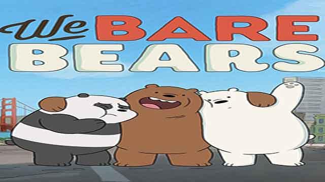 انیمیشن سریالی سه خرس کله پوک(ف1-ق20)-دوبله-We Bare Bears TV Series