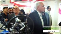 افتتاح نمایشگاه رونق تولید و پوشش های ساختمانی در اصفهان