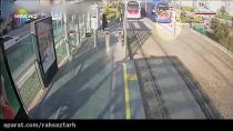 اتفاقات و تصادفات ثبت شده دوربین ها در تراموای شهر ازمیر ترکیه