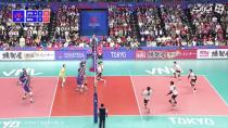 خلاصه بازی والیبال ژاپن 0 - 3 برزیل