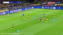 خلاصه بازی دورتمند صفر بارسلونا صفر هفته اول لیگ قهرمانان اروپا