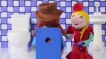 کارتون السا و آنا - این قسمت بازی بپر بپر روی گل