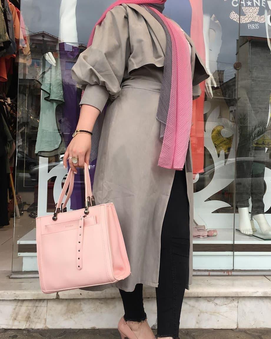 مدل مانتوی شیک دخترانه سال 2019