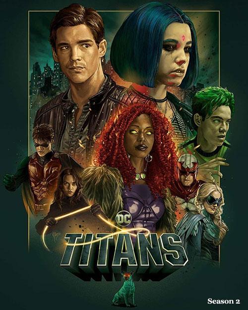 دانلود رایگان فصل دوم سریال تایتان ها Titans Season 2 2019 WEB-DL