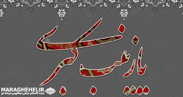 اعلام برنامه شب وفات حضرت زینب کبری (س)