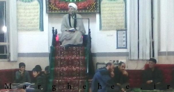 سخنرانی شب هشتم محرم در مسجد امام حسن (ع)