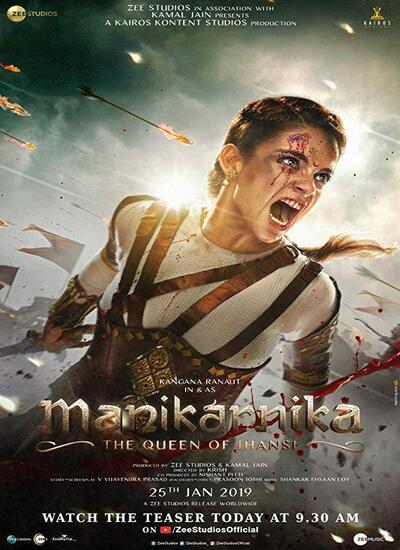 دانلود فیلم مانیکارنیکا: ملکه جانسی 2019 دوبله فارسی Manikarnika: The Queen of Jhansi