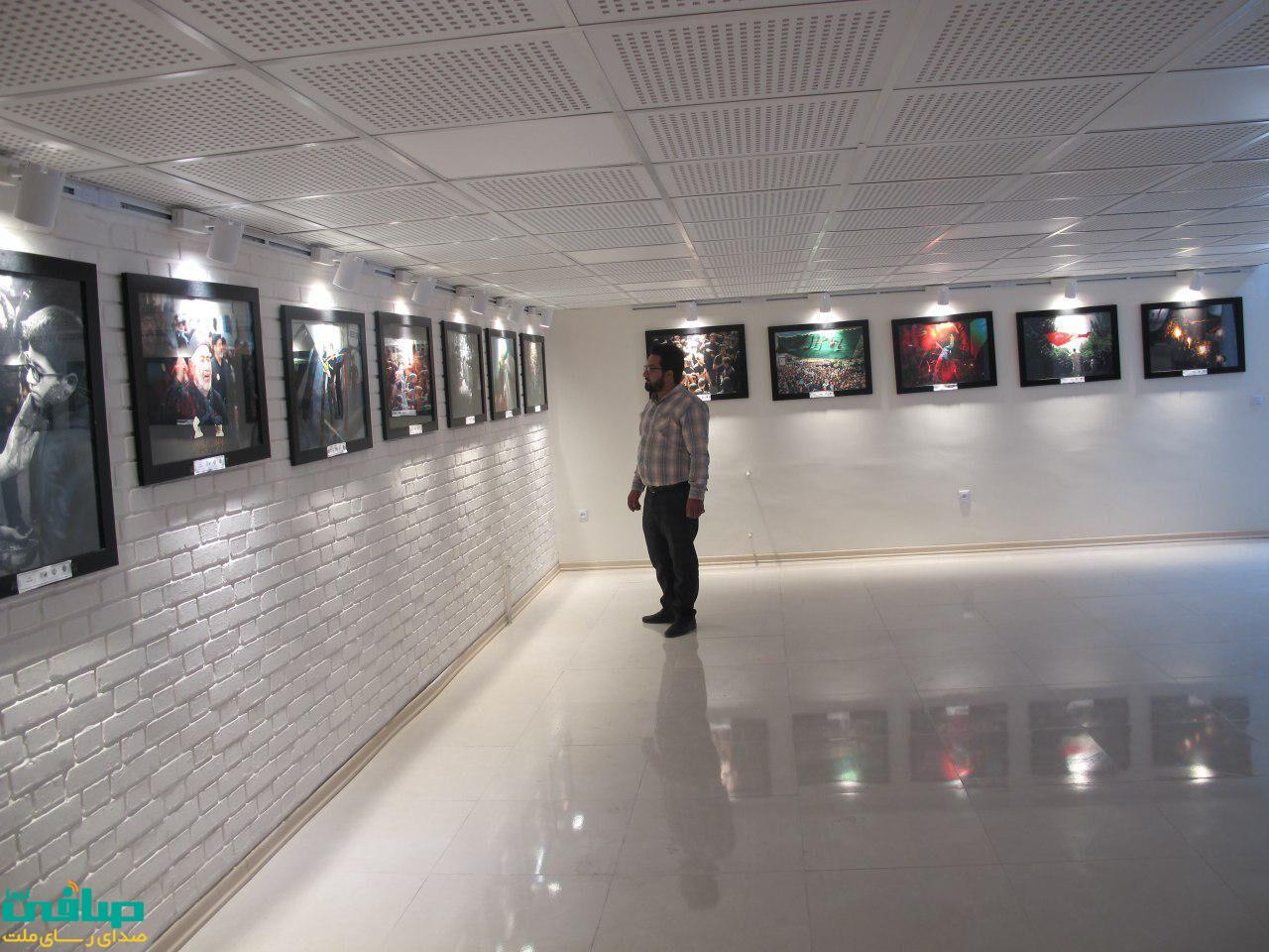 افتتاح نمایشگاه عکس محرم در مراغه