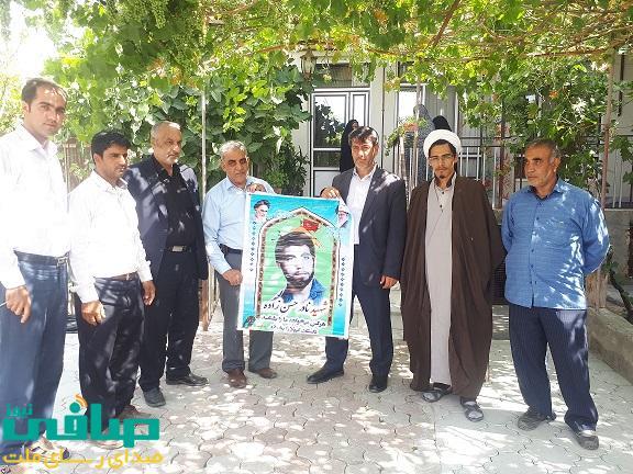 شهادت در راه عقاید و دفاع از میهن اسلامی یک افتخار بزرگ است