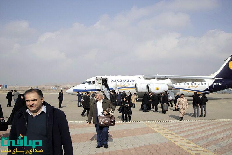 نماینده مجلس: پروازهای فرودگاه سهند مراغه از سر گرفته میشود
