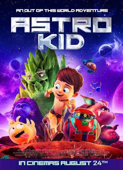 دانلود انیمیشن بچه فضایی 2019 دوبله فارسی Astro Kid