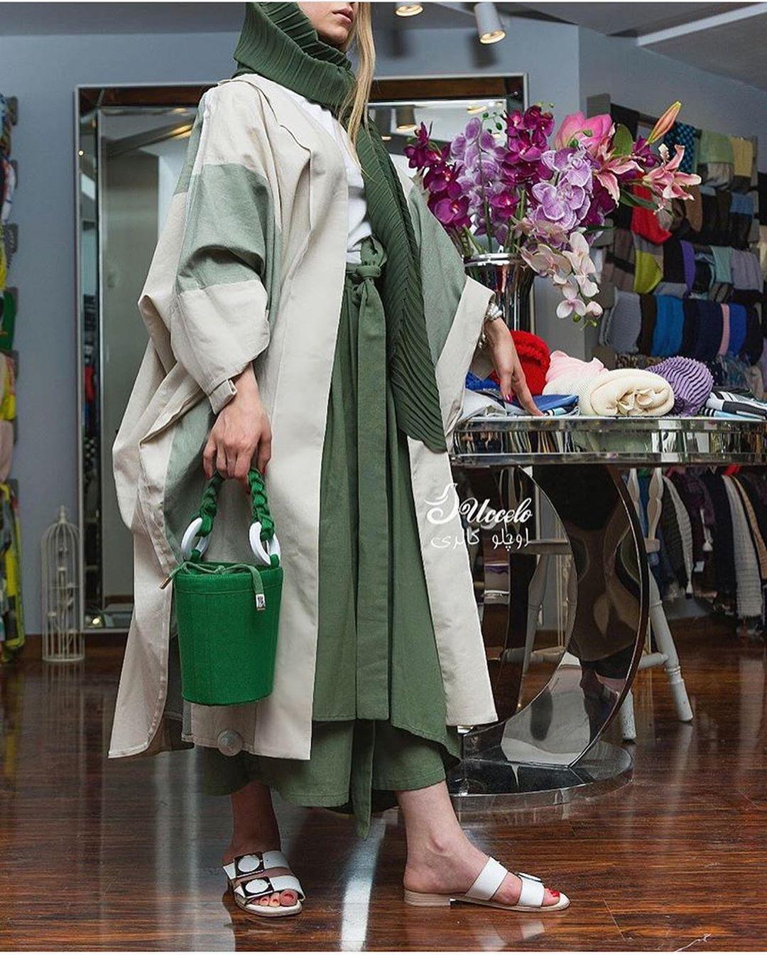 مدل مانتو بلند جدید دخترانه