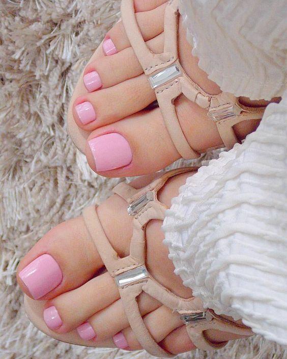 مدل لاک ناخن پا جدید