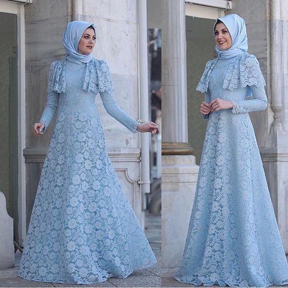 مدل لباس پوشیده عروس اسلامی