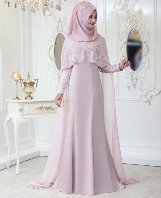 مدل لباس عروس پوشیده ترک