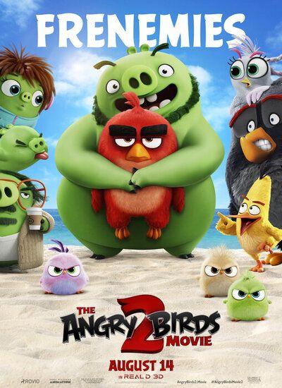 دانلود انیمیشن پرندگان خشمگین The Angry Birds Movie 2 2019