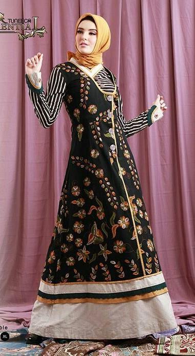 مدلهای مانتو بلند پوشیده