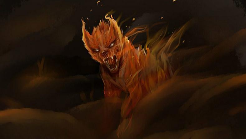 داستان ترسناک سگ های جهنمی