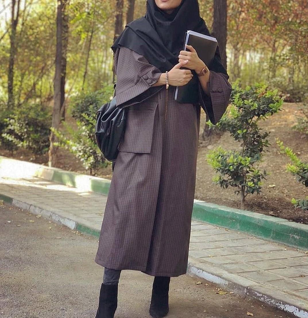 مدل مانتو دانشجویی 98 اینستاگرام
