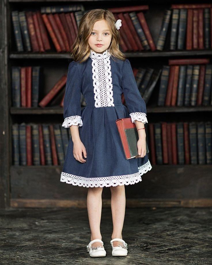 مدل مانتو دختر بچه 9 ساله