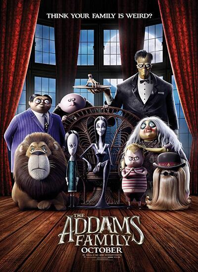 دانلود رایگان انیمیشن خانواده آدامز The Addams Family 2019 HDCAM