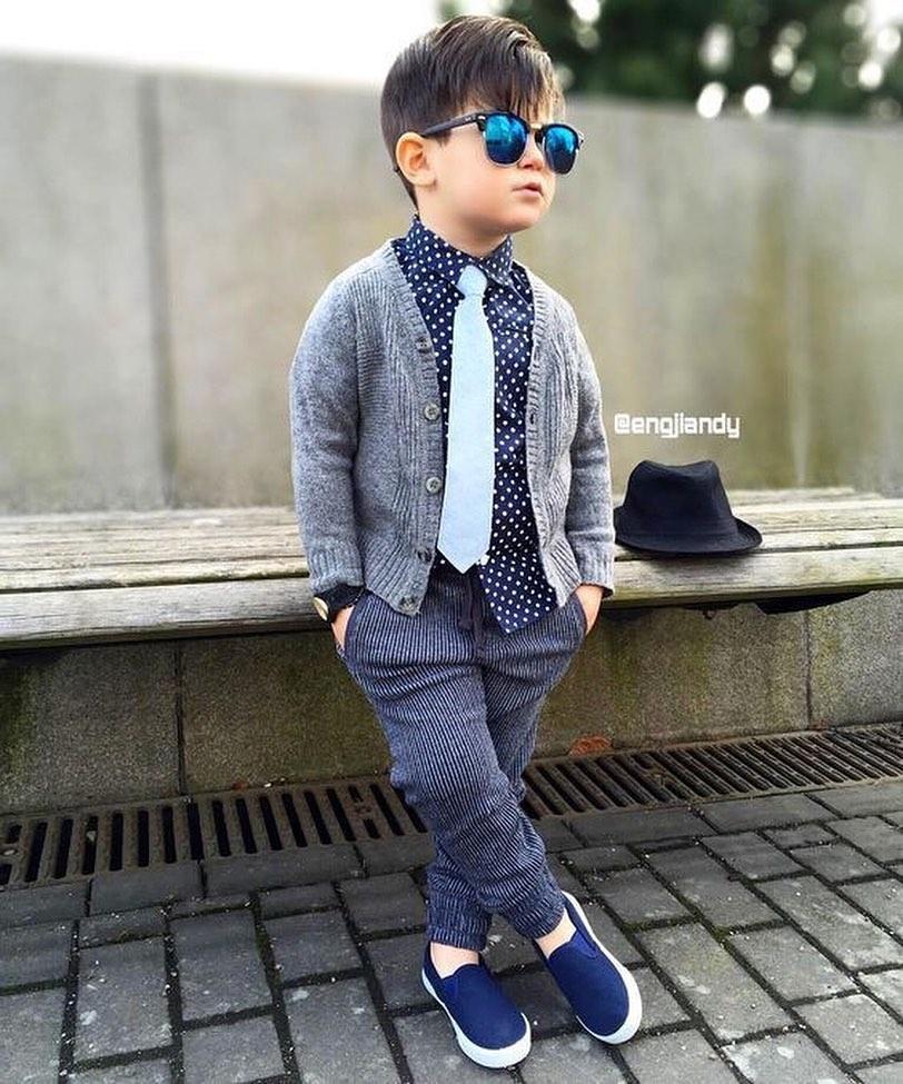مدل لباس پاییزی پسرانه بچه