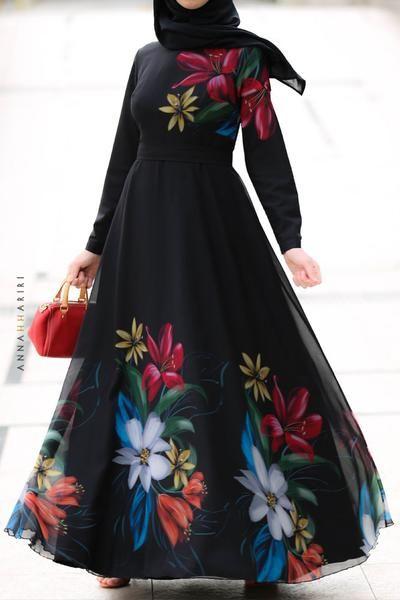 مدل مانتو با پارچه گلدار