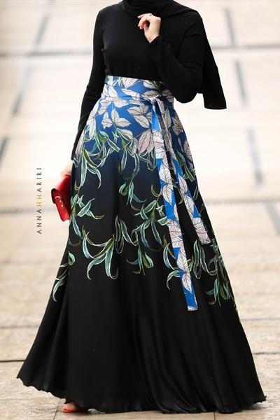مدل مانتو با پارچه گلدار بزرگ