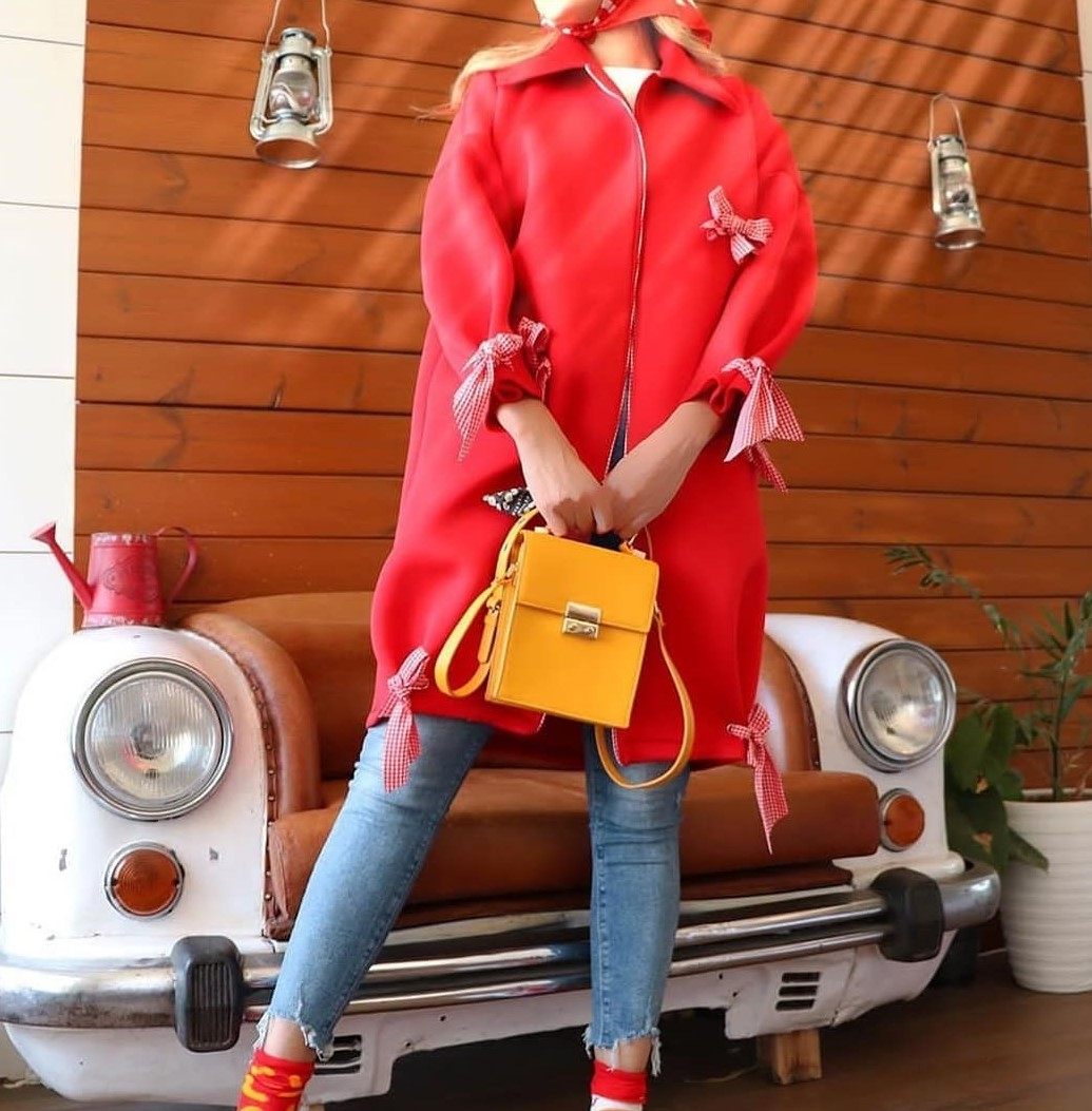 مدل مانتو کوتاه پاییزه دخترانه