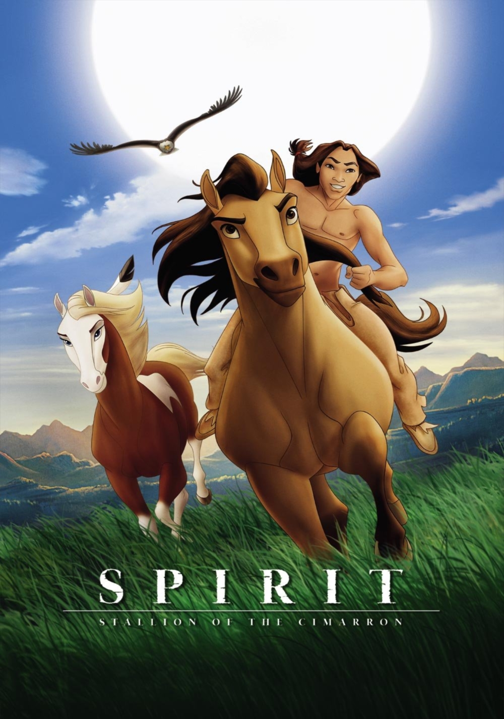دانلود انيميشن اسپریت: نریان سیمارون Spirit: Stallion of the Cimarron 2002