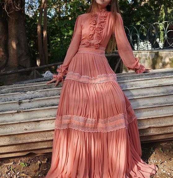مدل لباس مجلسی زنانه بلند 98