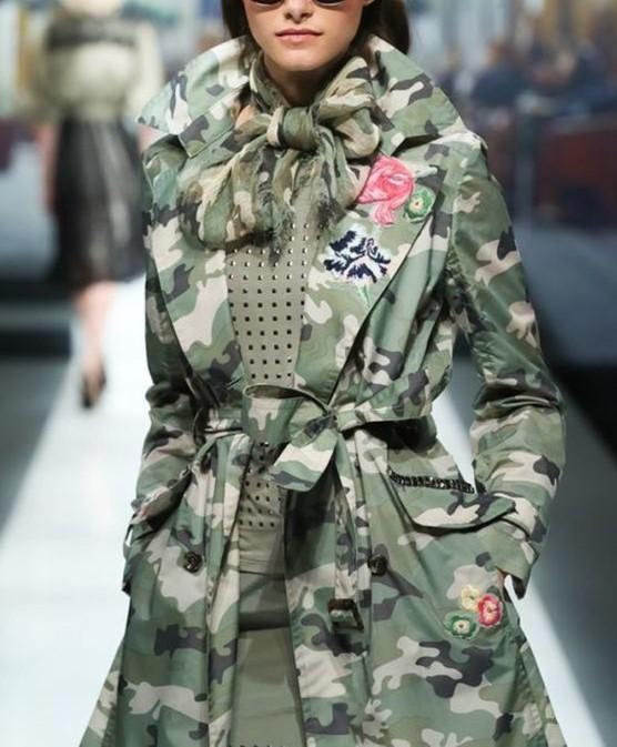 مدل مانتو ارتشی اسپرت