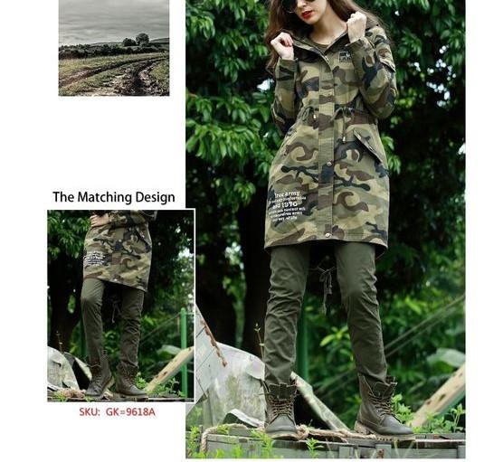 مدل مانتو ارتشی دخترانه پاییزی