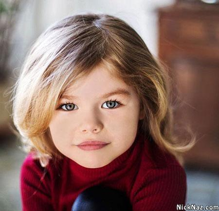 عکس زیباترین دختربچه جهان 2020